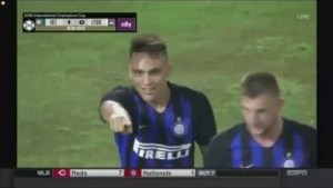 Video: Inter Milan vs Olympique Lyon (1-0) - All Goals and Extended Highlights